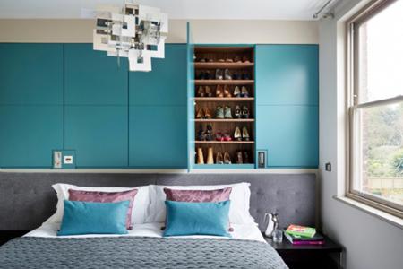 دیوار تخت خواب